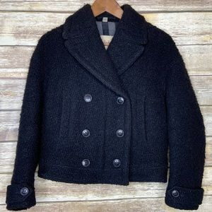 Burberry Britt 2 boucle wool double breasted coat
